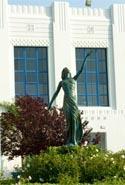 Myrna Loy Statue