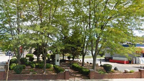 James Dean Memorial Park and Bust Fairmount Indiana