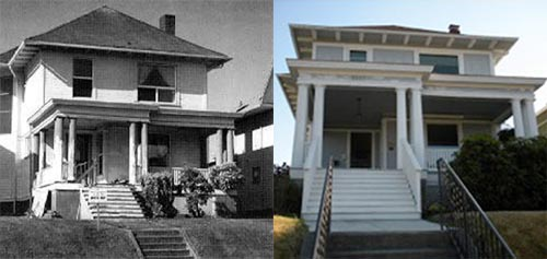 Bing Crosby Birth Home Then and Now